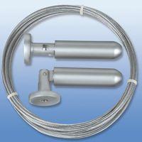 Câble de rideaux métallique souple