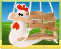 Balançoire poulet