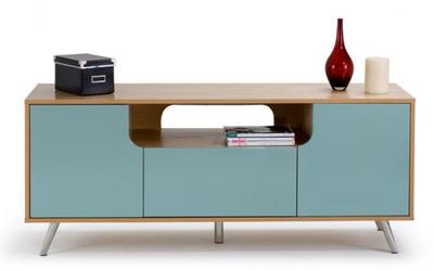 meuble tv cosmo de myfab esprit fifties la d co d cod e. Black Bedroom Furniture Sets. Home Design Ideas