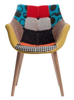 chaise anders patchwork par la d co d cod e. Black Bedroom Furniture Sets. Home Design Ideas