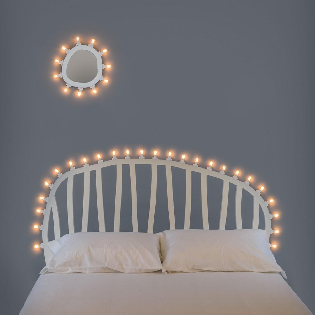 Seletti invente la tête de lit lumineuse dans la collection ...