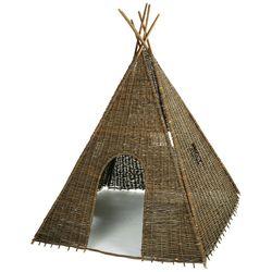 Tipi indien en osier tressé H202 cm Heyoka-Maisons du Monde