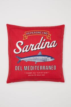 Housse de coussin Sardina