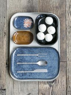 Assiettes rectangulaires